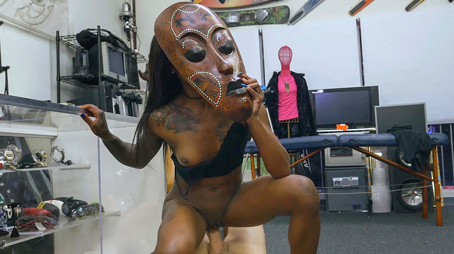 Ceremonial Sex in The XXX Pawn Shop